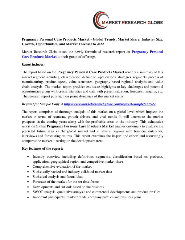 pregnancy personal care products market global trends market share pregnancy personal care products market