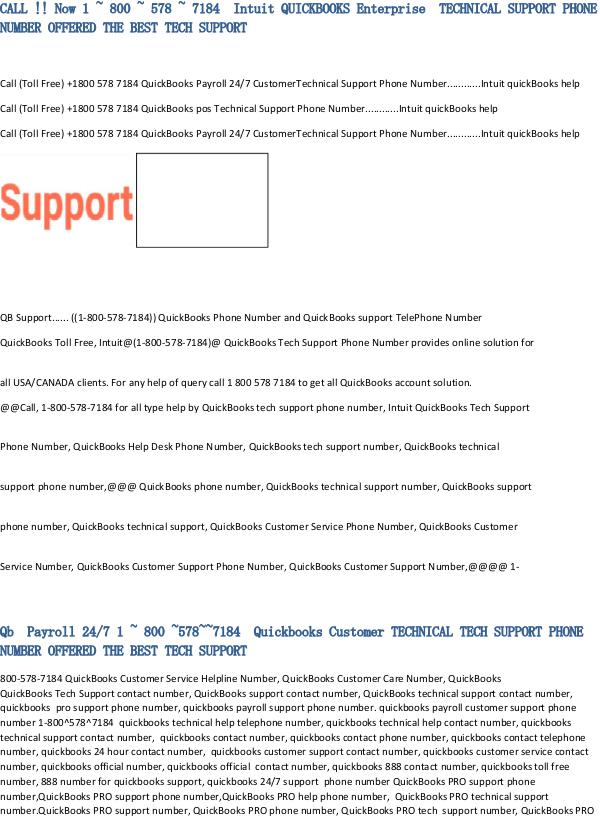 Call now 18005787184 Intuit Quickbooks Tech Support Phone