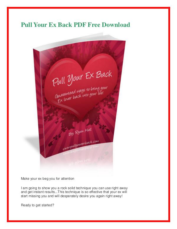 ryan hall pull your ex back pdf free download pull your ex back pdf free
