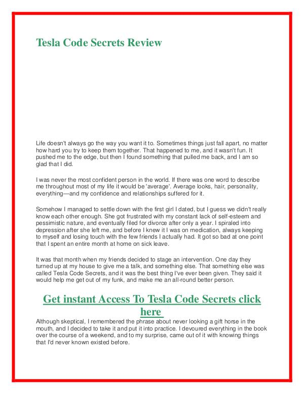 Tesla code secrets pdf book alex west free download tesla code other issues of tesla code secrets pdf book alex west free download fandeluxe Image collections