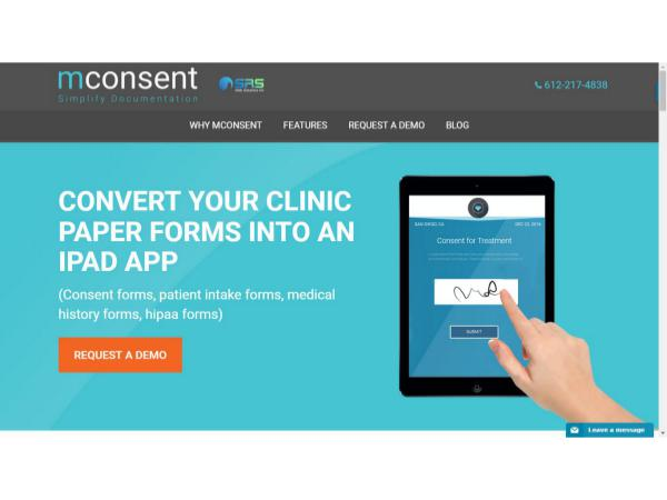 Hipaa Patient Registration Form | Medical Consent Form - Mconsent