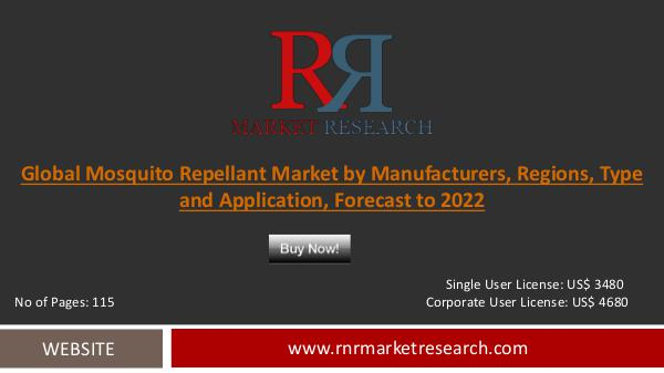 mosquitor repellent market analysis Body worn insect repellent market - global industry analysis, size, share, growth, trends and forecast 2015 - 2021.