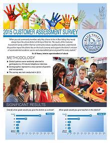 Blue Valley Customer Assessment Survey 2015