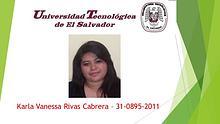 Karla Rivas- 31-0895-2011