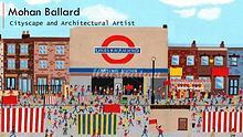 Mohan Ballard - Cityscape and Architectural Artist, London