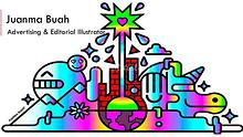 Juanma Buah - Vibrant Advertising & Editorial Illustrator. Madrid