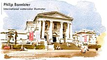 Philip Bannister - International watercolor illustrator, Yorkshire