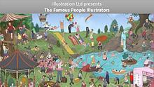 Famous People Illustrators From UK, USA & AUS