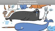 Famous Animal Illustrators From UK & USA