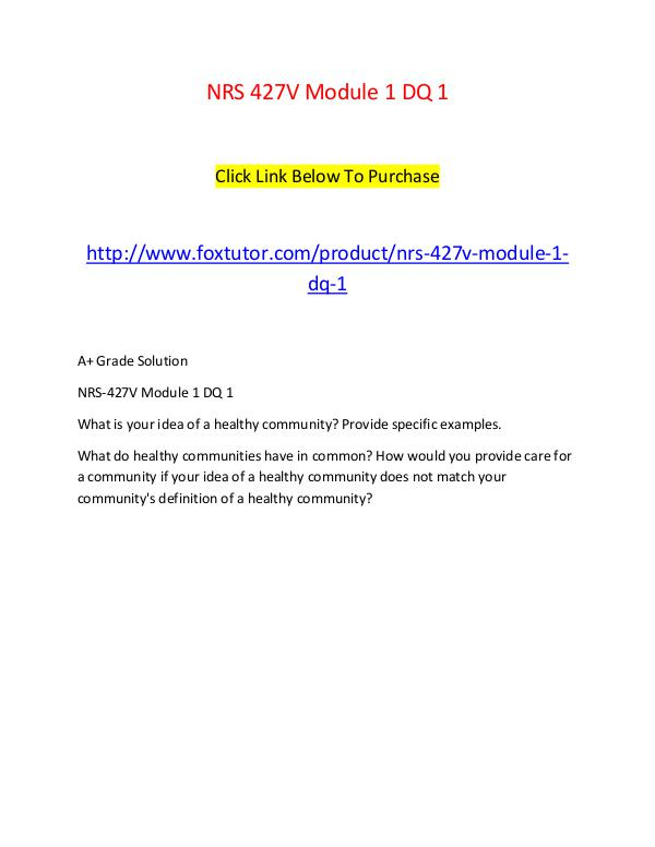 module 1 dq 1 Download: mgt 420 module 5 dq 1, 2 and 3 - mgt420 homework help for syllabus assignments, discussions and exams for grand canyon university students.