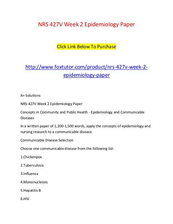week5 epidemiology