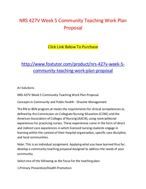 community teaching work plan proposal Community teaching work plan proposal directions: develop an educational series proposal for your co ca7bcf2e704d3ca32d86180b0ceefd33docx.