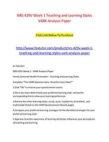vark analysis The vark model is one of the most frequently used methods to describe and categorize different learning styles learn about the vark learning styles.