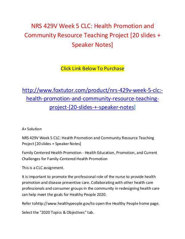 vark analysis nrs 429v family centered health promotion Nrs 429v week 1 - vark analysis paper family centered health promotion - teaching and learning styles grand canyon university (nrs-429v-o103.