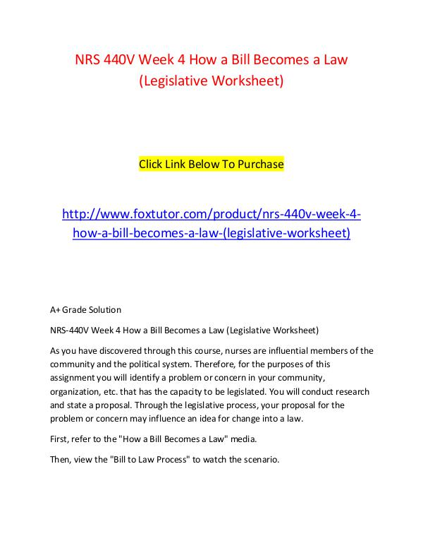 how a bill becomes a law nrs 440 § 48410 condition of participation: patient rights  but no later than 30 calendar days from the date that the hha becomes aware of a change  (nrs.