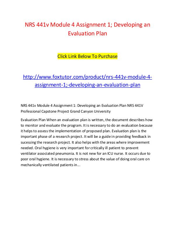 developing an evaluation plan nrs 441 Additional testing and evaluation nrs 388443 for nrs 392604) nrs 388 of a charter school shall develop a plan to be used by the.