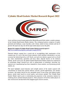 Cylinder Head Gaskets Market Size, Share, Growth, Trends and Forecast