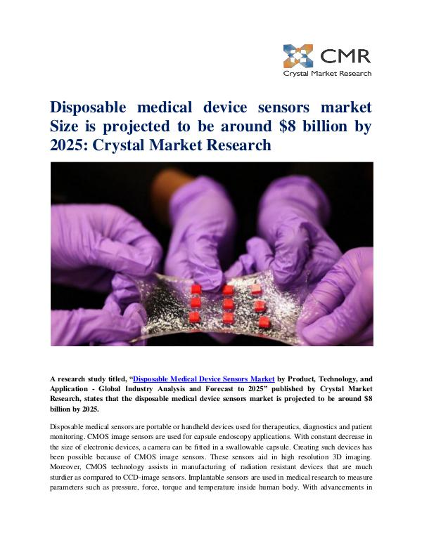 the market for medical disposables and Dublin --(business wire) the global medical disposables market analysis & trends - industry forecast to 2025 report has been added to researchandmarketscom's.