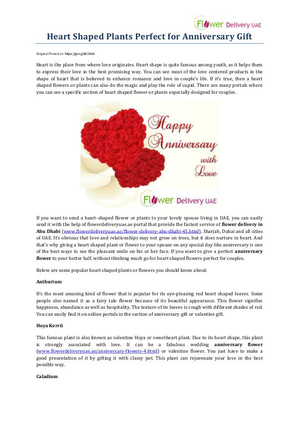 My first Magazine Heart Shaped Plants Perfect for Anniversary Gift
