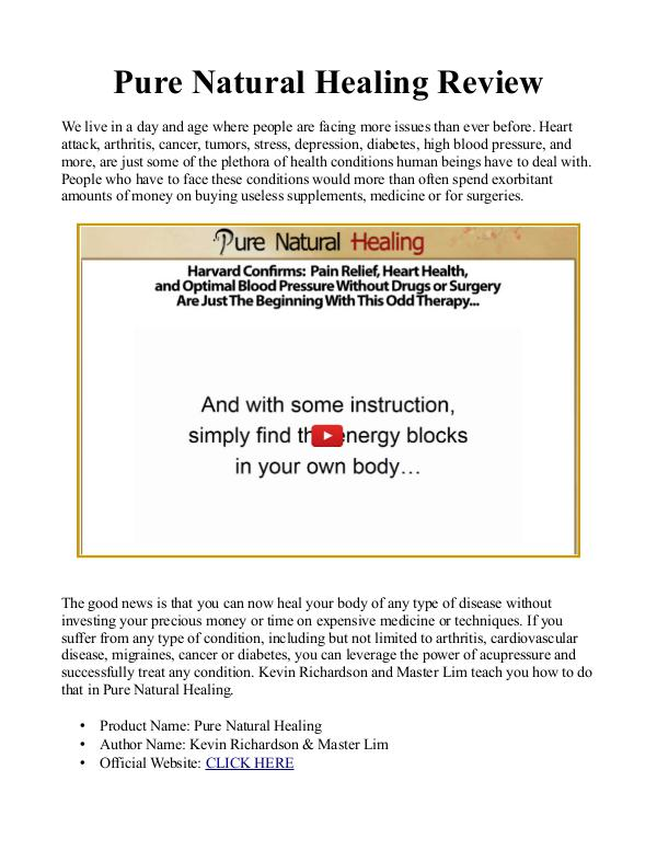 Pure natural healing pdf ebook free download master lims pure pure natural healing pdf ebook free download master lims pure natural healing book review fandeluxe Image collections