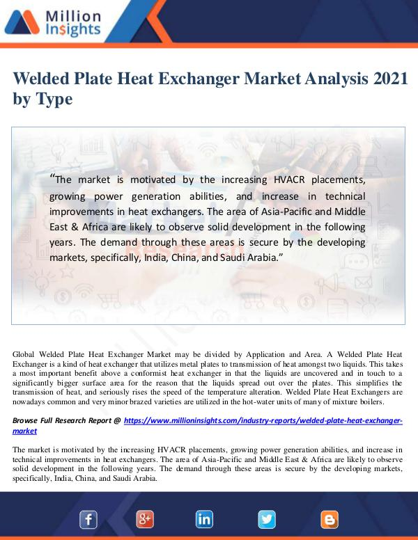 various kinds of heat exchangers analysis