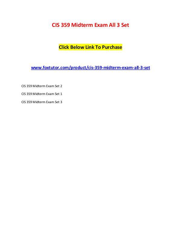 cis 502 midterm exam Homework lance online homework help home bus 500 midterm bus 502 bus 508 cis 359 midterm cis 363a cis 407 final exam cis 408 cis 438.