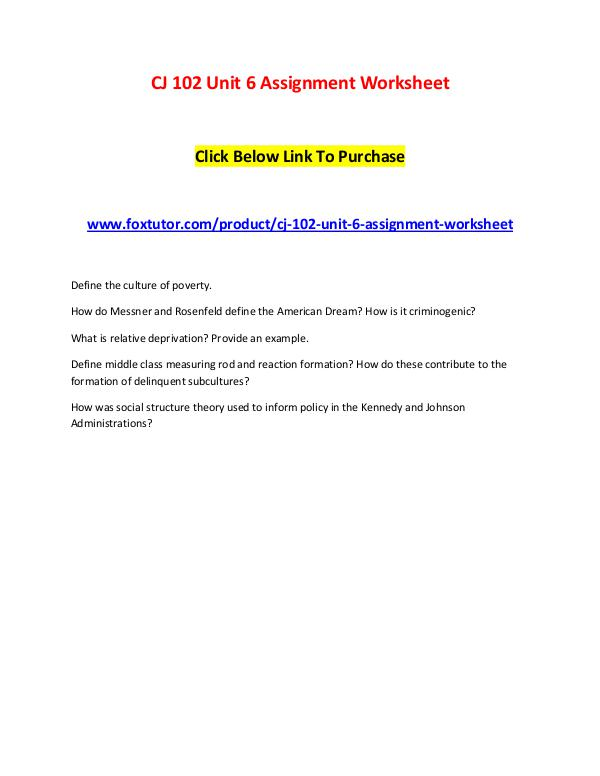 cj unit assignment worksheet cj unit assignment worksheet