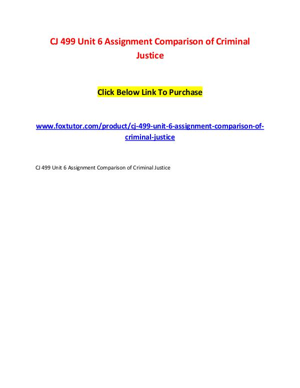 unit 6 essay criminal justice ethics Criminal justice ethics search in: advanced search submit an article new  review essays  review article principle and pragmatism in the death penalty debate mary sigler  the criminal justice system creates incentives for false convictions koppl et al volume 32, 2013 - issue 2.