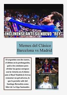 MEMES DEL CLÀSICO BARCELONA VS REAL MADRID