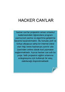 hacker can'lar