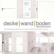dwb Wohnraumtüren CPL Color Line mit Lisenen ack 9010