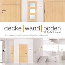 dwb Wohnraumtüren CPL Holz Design Line mit Lisenen L3 Ahorn