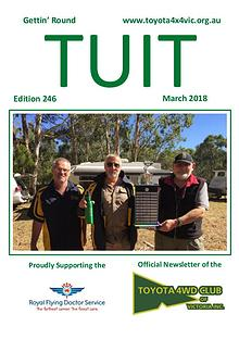 TUIT March 2018