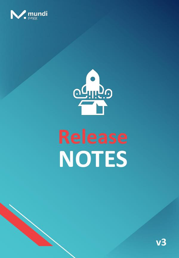 Release Notes Release Notes nº3 - 13.09