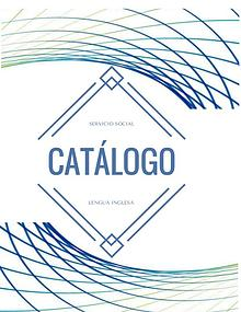 Catálogo Servicio Social
