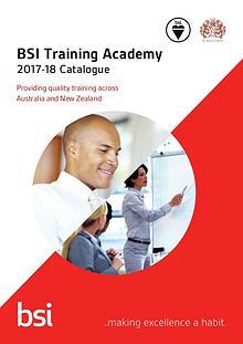 Training catalogue 2017-18