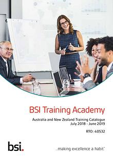 ANZ Training Catalogue July 2018 - June 2019