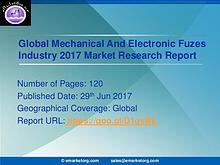 Mechanical And Electronic Fuzes Market Trends & Forecast to 2022- Ind