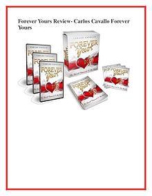 Carlos Cavallo :Forever Yours PDF /eBook