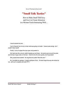Conversation Escalation Make Small Talk Sexy PDF Free Download