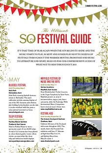 The So Festival Guide 2018