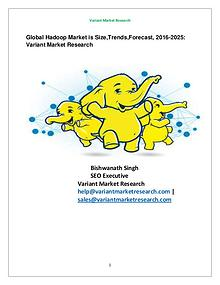 Global Hadoop Market is estimated to reach $670.8 billion by 2025