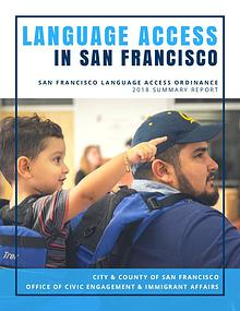 San Francisco Language Access Ordinance 2018 Report