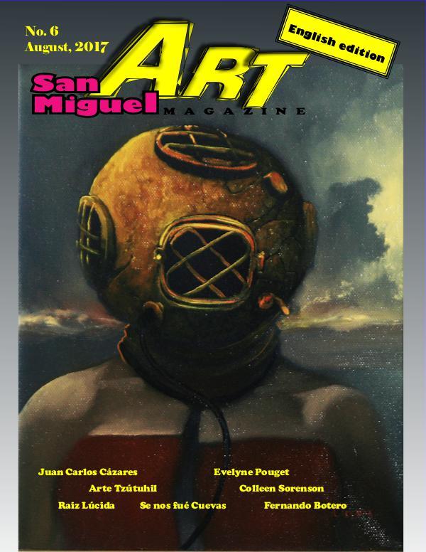 San Miguel Art magazine/ August
