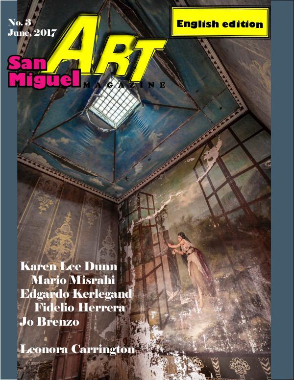 San Miguel Art magazine/April JUNE 17