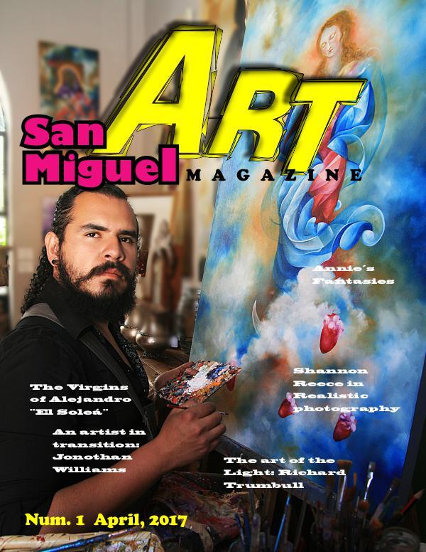 San Miguel Art magazine/ April English