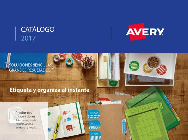 Catálogo Avery 2017
