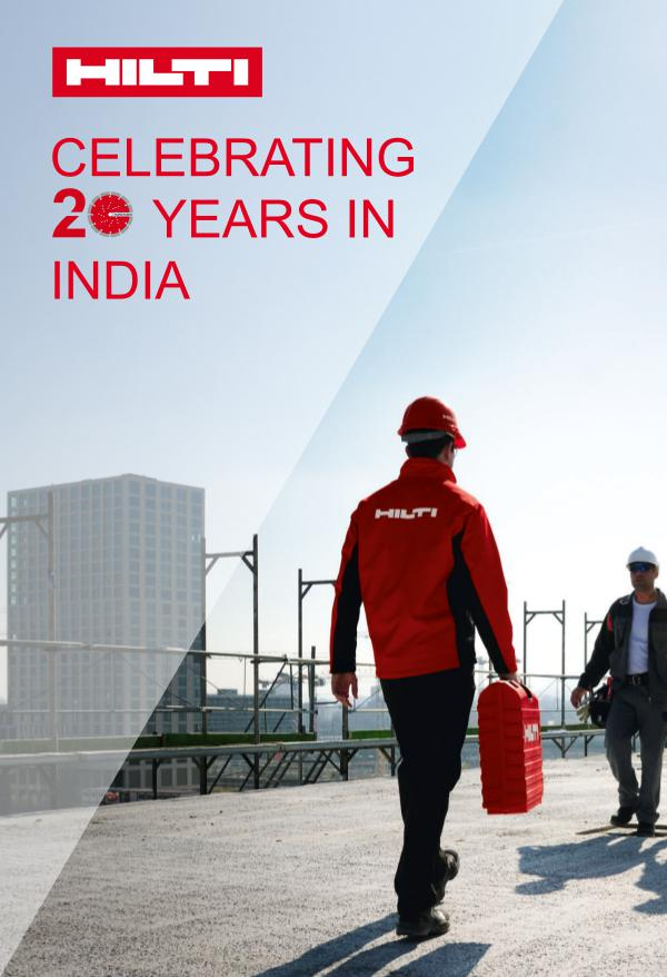 Hilti India Offers 20 combos_20 years in India_I
