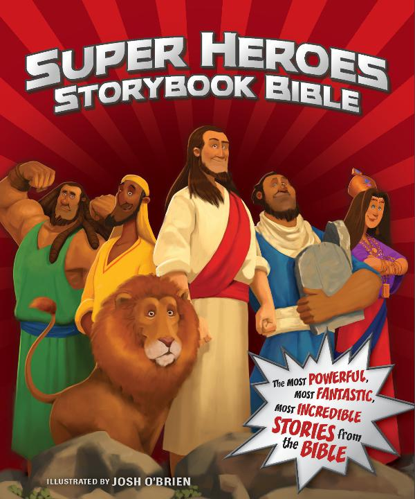 Super Heroes Storybook Bible Sampler