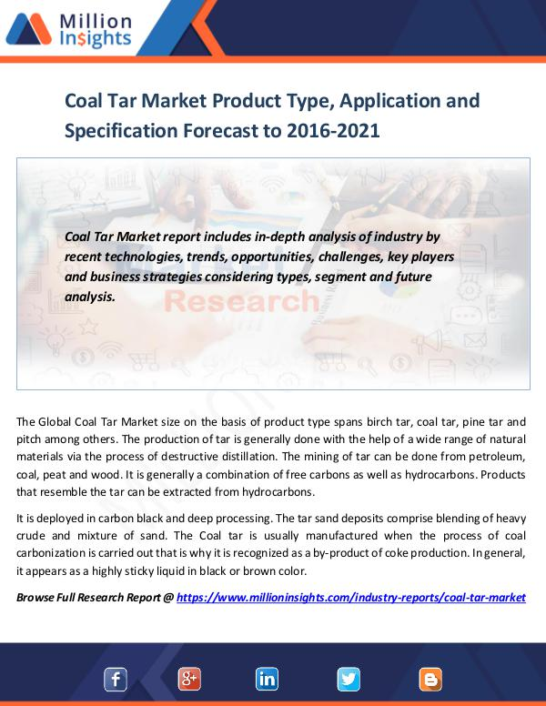 china coal tar market analysis trends Coal tar pitch market report provides throughout analysis of the potential of coal tar pitch market and provides statistics and information on market size, shares and growth factors the report also identifies and analyses the emerging trends along with major drivers, challenges and opportunities.